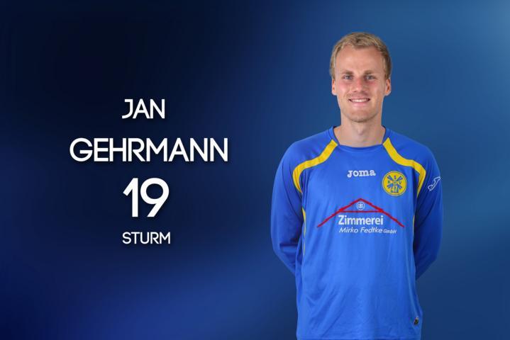 Verstärkt ab der Rückrunde das Trainerteam der II. Männer: Jan Gehrmann
